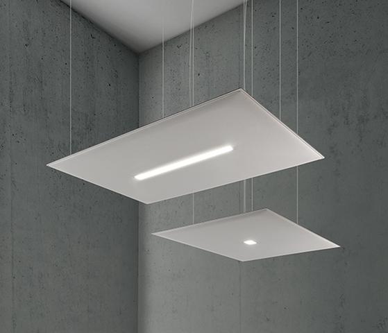 Oversize lux pannelli acustici e luci da soffitto - Riganelli Arredamenti