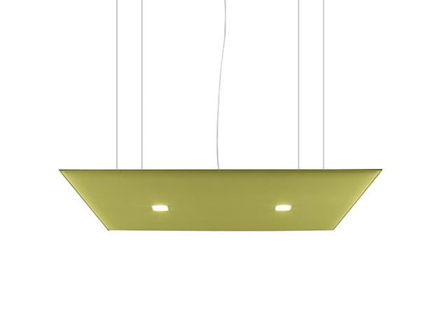 Oversize lux pannello fonoassorbente da soffitto con luci led - Riganelli Arredamenti