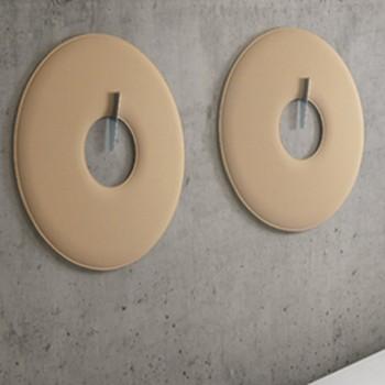 giotto wall pannello acustico circolare da parete - Riganelli Arredamenti