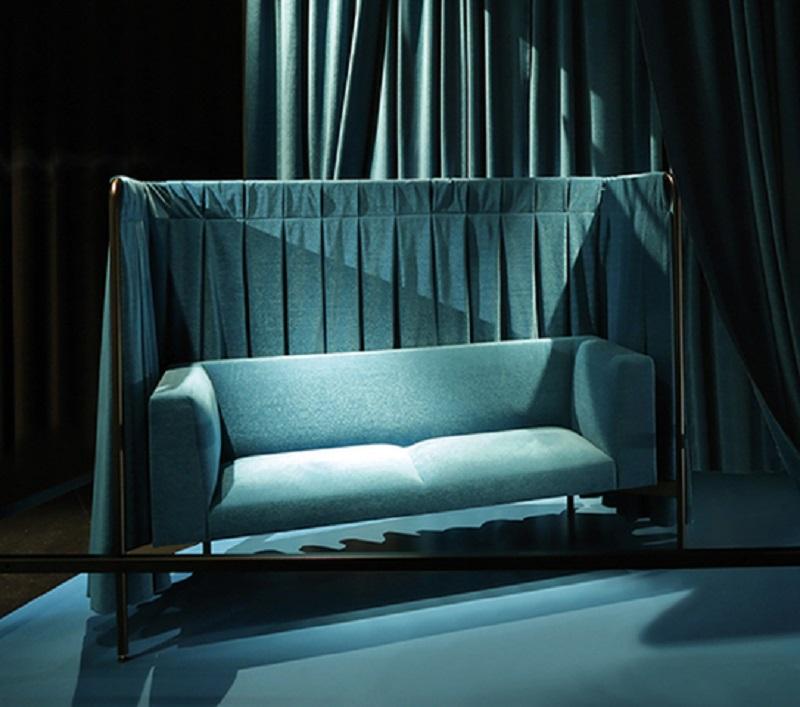Snowsofa divanetto snowsound design - riganelli