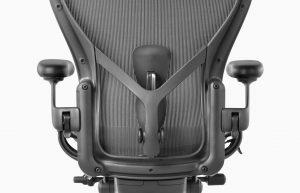 Aeron dettaglio schienale seduta ergonomica ufficio - riganelli