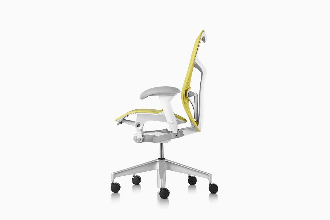 Mirra-sedia-ufficio-gialla-riganelli