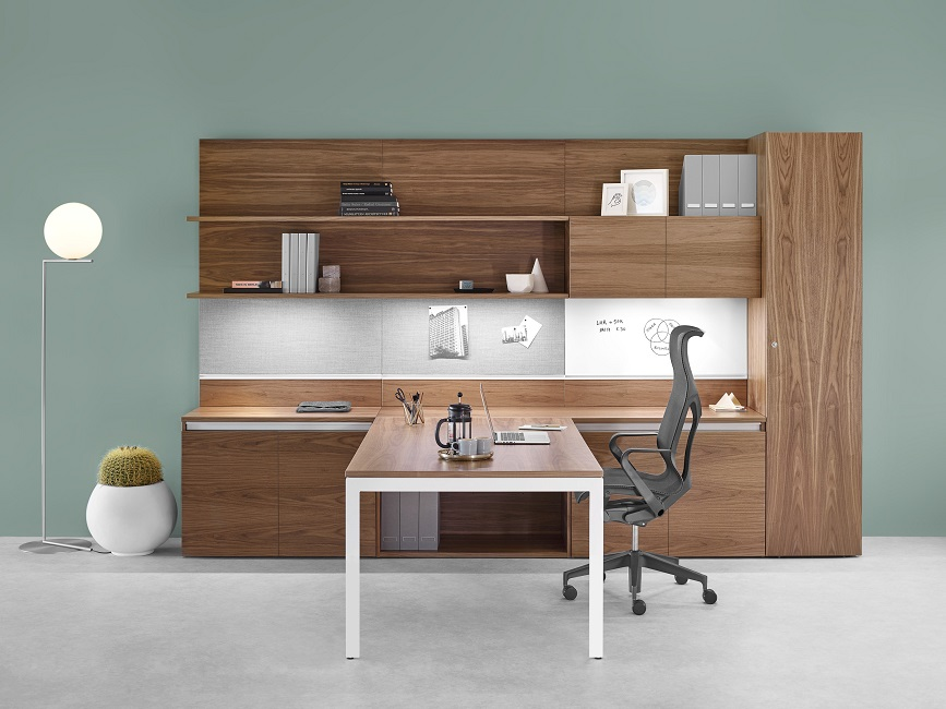 Cosm poltrona ergonomica ufficio direzionale con poggiatesta ergonomico - riganelli