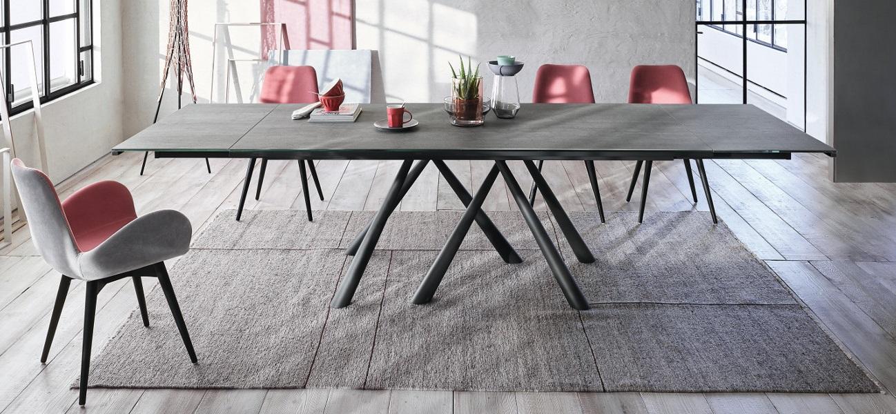 Forest tavolo allungabile per ufficio riunione - riganelli