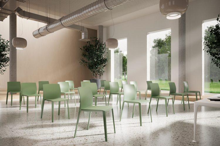 Sedute monoscocca: design, colore e praticità