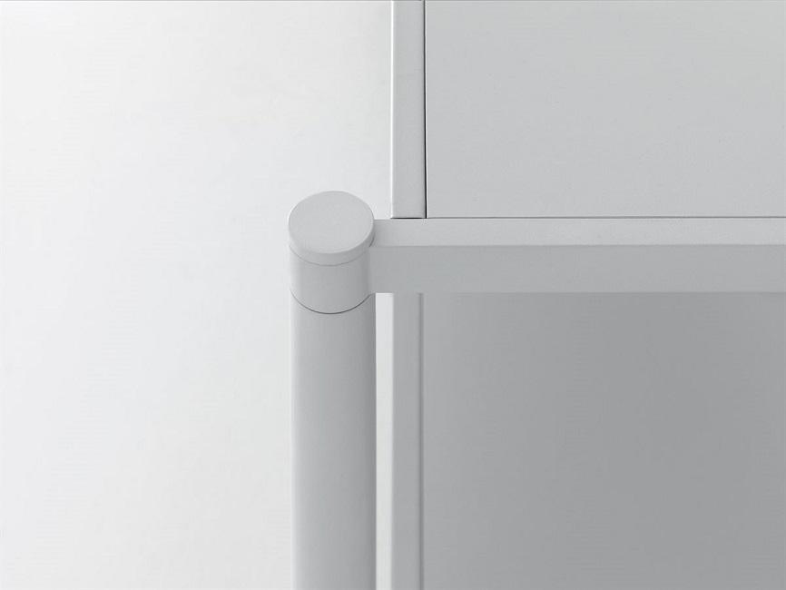 LIMA Dettaglio-libreria-componibile-in-metallo-Riganelli-Arredamenti