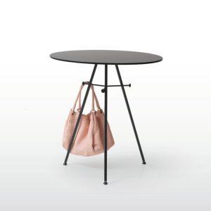 tavolino fred con gancio appendi borsa - riganelli - Copia