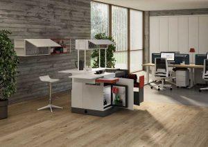 Cucina per ufficio spazio lavoro coworking - riganelli