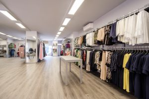 Ampliamento e rinnovo negozio - riganelli
