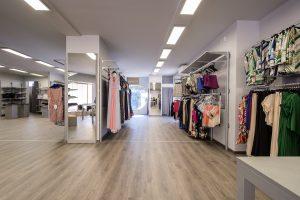 Rinnovo arredo negozio di abbigliamento a macerata - riganelli