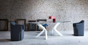 tavolo design per arredo negozio - riganelli
