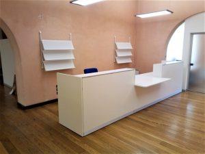 Bancone reception per accoglienza - riganelli