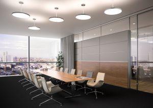Illuminare la sala riunioni - riganelli