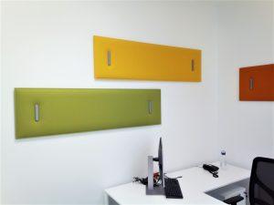 Pannelli fonoassorbenti per ufficio - riganelli