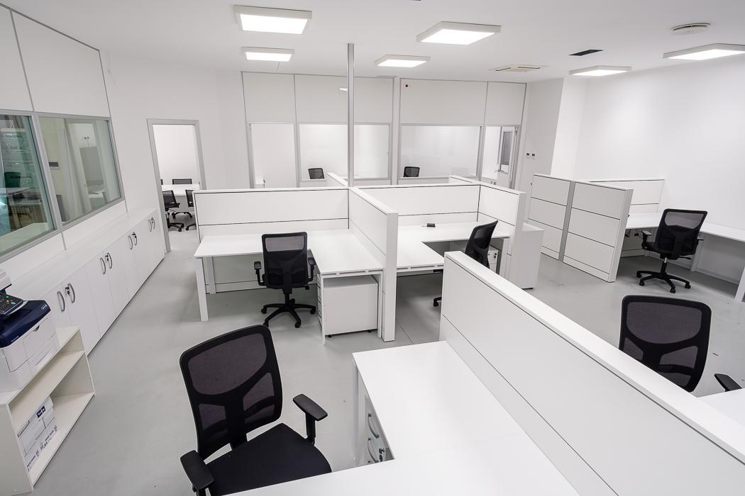 Postazioni operative ufficio openspace - riganelli