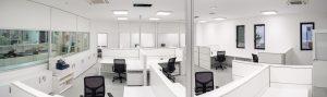 Progettazione e realizzazione uffici area operativa openspace - riganelli