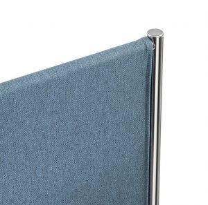 Sepà divisorio acustico con tessuto fonoassorbente snowsound fiber - riganelli