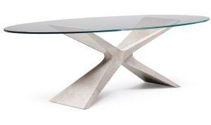 tavolo protagonista arredo negozio - riganelli