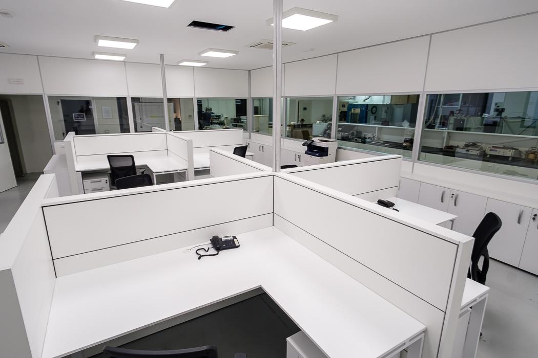 paretine divisorie per ufficio openspace - riganelli