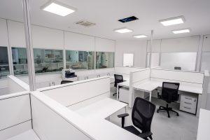 ufficio operativo openspace con sedute ergonomiche - riganelli