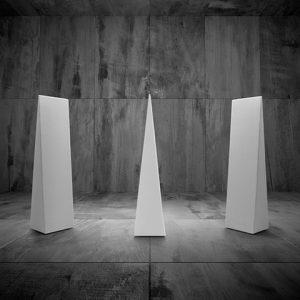 Gio Ponti obelisco elementi fonoassorbenti snowsound - riganelli