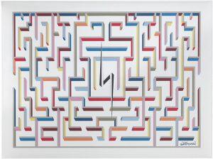Gio Ponti pannello fonoassorbente labirinto - riganelli