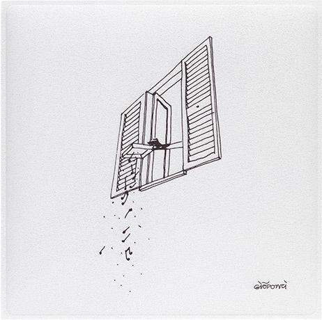 Gio Ponti pannello fonoassorbente snowsound art - riganelli