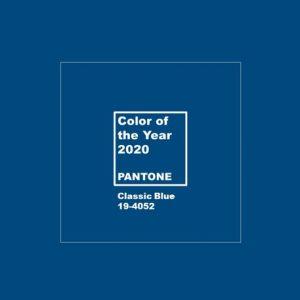 Pantone classic blue 2020 colore dell'anno - riganelli