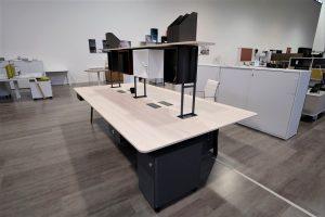 scrivania multi postazione Bralco Take off evolution