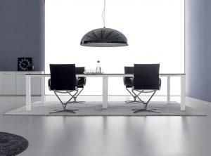 Ufficio sala riunione con tappeto - riganelli