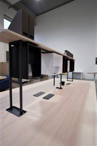 take off evolution scrivania con libreria sopraelevata - riganelli
