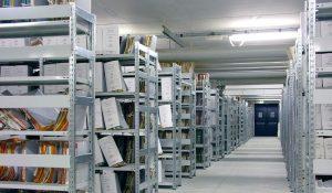 scaffalatura leggera per archivio - riganelli