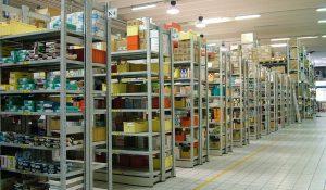 scaffalatura leggera per ripostigli garage archivi - riganelli