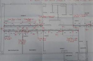 disegno progetto realizzazione uffici - riganelli