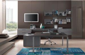 scrivania pe arredare ufficio a casa - riganelli