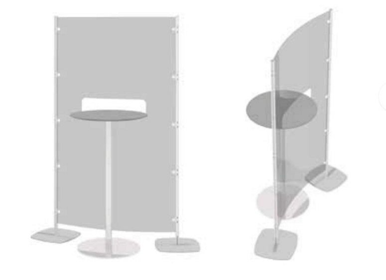 Arianna safety divisori trasparenti per ristorante -riganelli