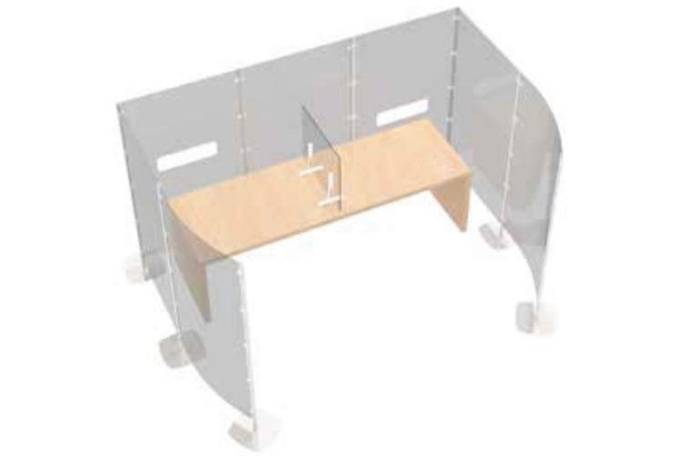 Arianna safety paretine divisorie in moduli per ufficio - riganelli