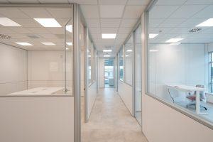 installazione pareti divisorie per ufficio - riganelli