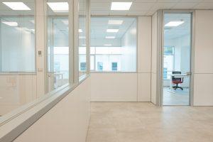 pareti divisorie e attrezzate per uffici - riganelli