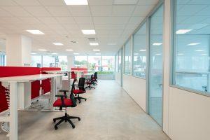 progettazione e arredo uffici coworking open space - riganelli