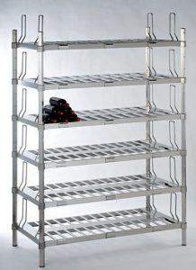 Scaffalatura-in-acciaio-inox-per-aziende-vinicole-e-stoccaggio-bottiglie-di-vino