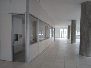 parete divisoria con porta e finestre - riganelli