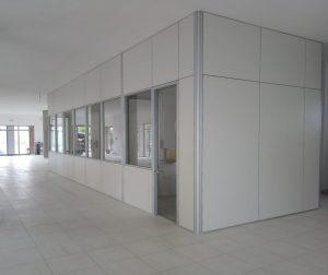 progettazione e realizzazione uffici con pareti divisorie e attrezzate - riganelli