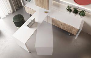 scrivania richiudibile per casa smart working - riganelli