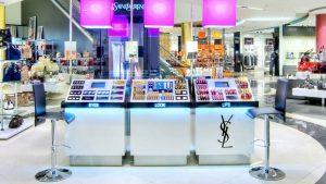 Espositore per trucchi e cosmetici arredo negozio profumeria - riganelli