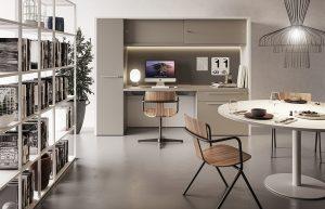 Oxford scrivania home office postazione smart working -riganelli