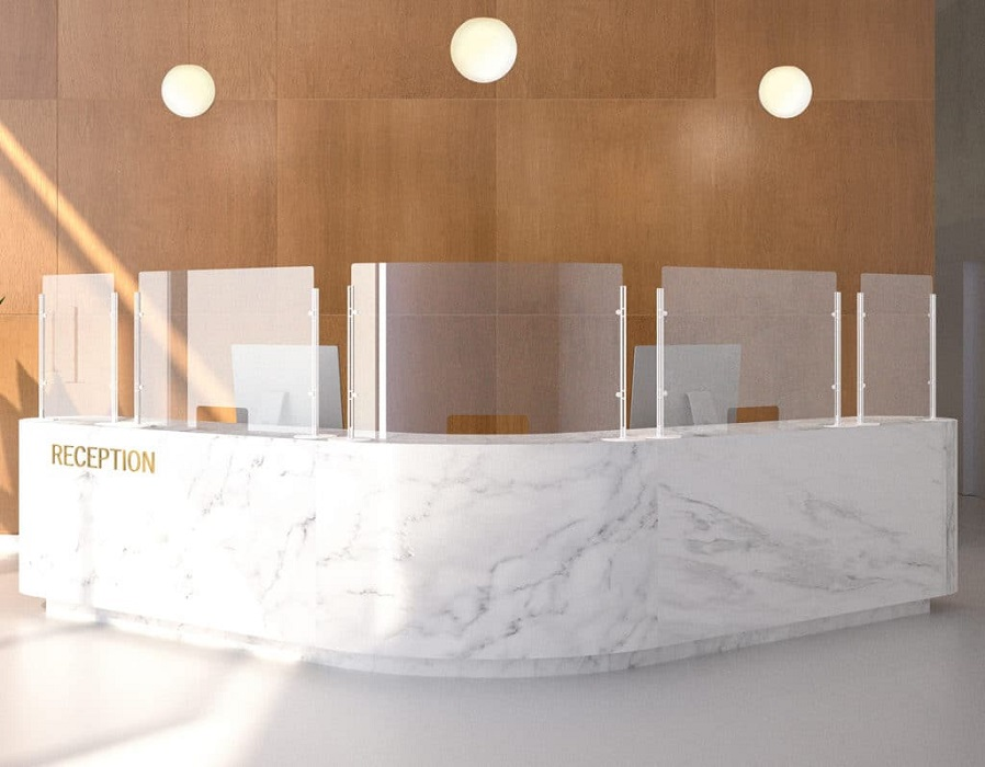 arianna desk safety schemi di protezione per reception -riganelli
