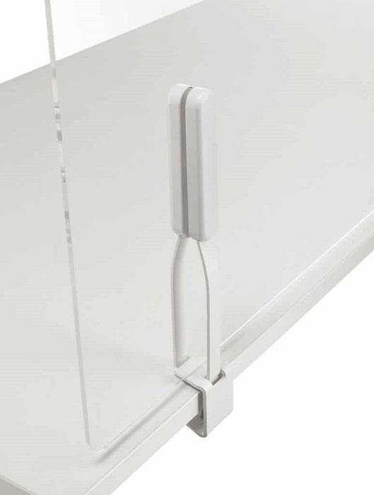 mitesco safety schermo di protezione con morsetto per aggancio sul piano - riganelli