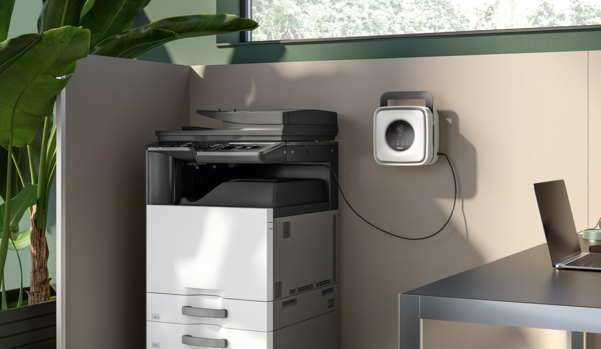 o2air purificatore aria per ufficio scuola casa -riganelli