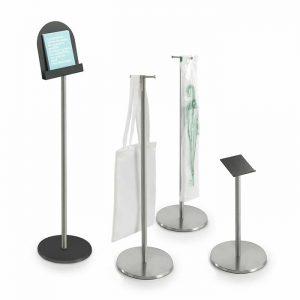 set displays colonnina portadepliant -riganelli